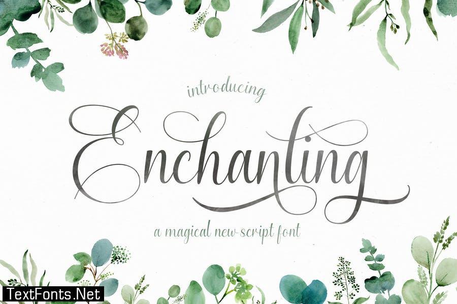 Enchanting Script Font