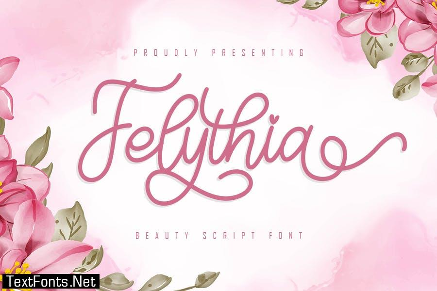 Felythia - Beauty Script Font