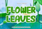 Flower Leaves Font