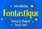 Fontastique - Unique Serif Font