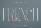 French VP Font Family