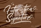 Futuristica Signature Script LS