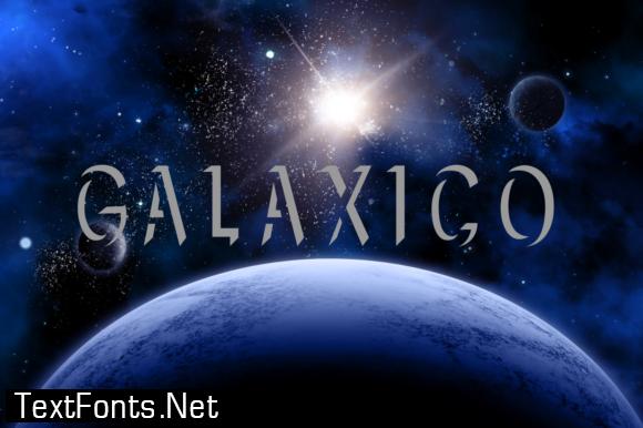 Galaxtico Font