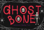 Ghost Bone Font