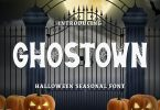 Ghostown Font