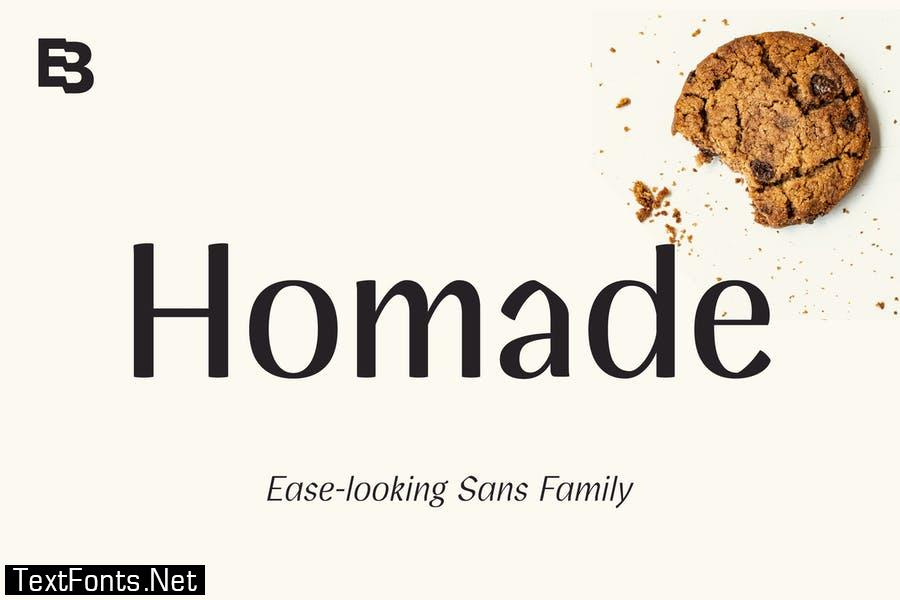 Homade Font