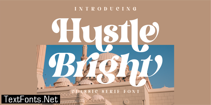 Hustle Bright Font Family