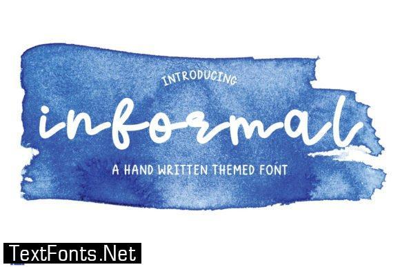Informal Font
