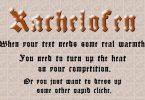 Kachelofen Font