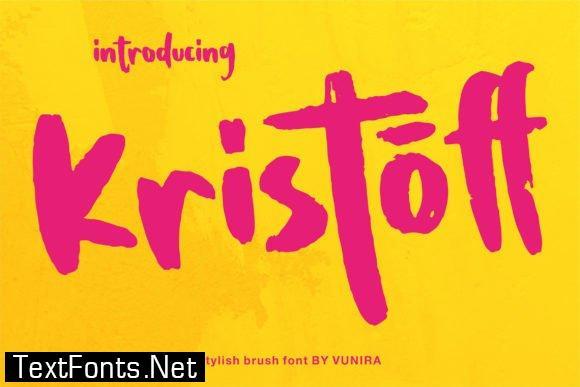 Kristoff Font