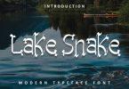 Lake Snake Font