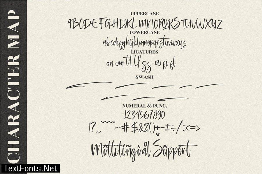 Lightgraph Handwritten Script LS