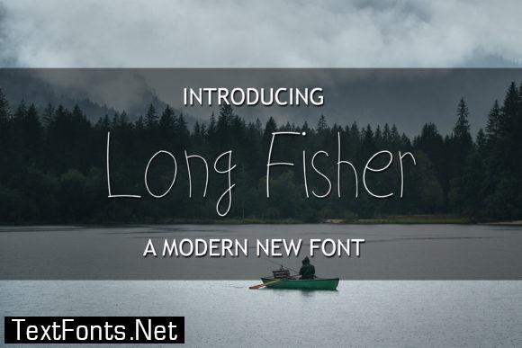 Long Fisher Font