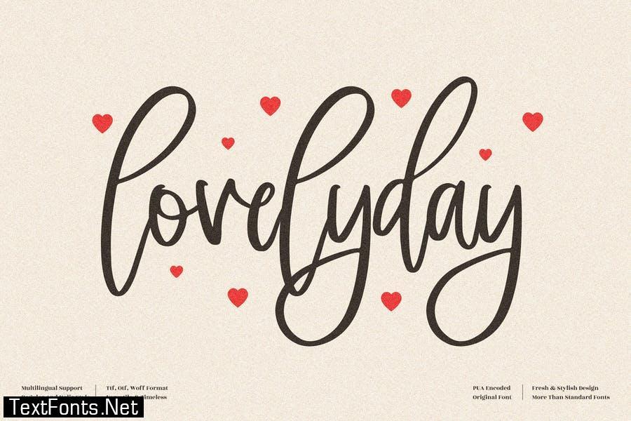 Lovelyday Beautiful Script LS