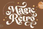 Magic Retro Font Family