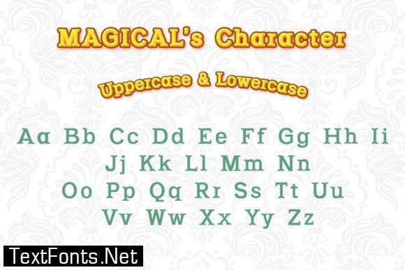 Magical Halloween Font