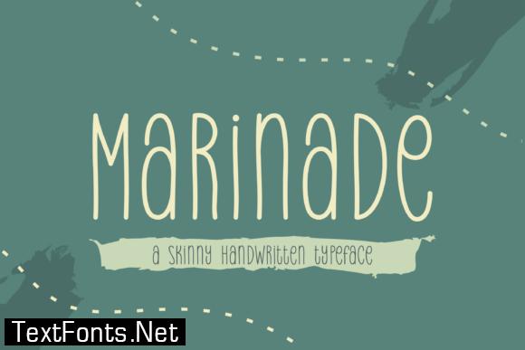 Marinade Font