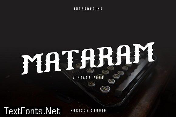 Mataram Font