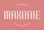 Maxonie Font