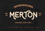 Merton Font