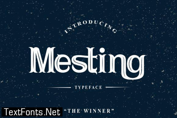 Mesting Font