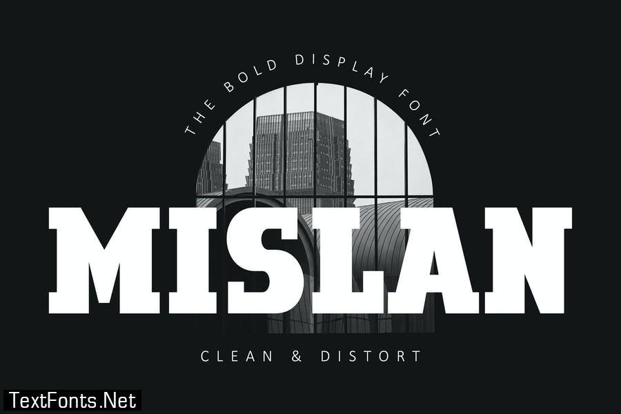 Mislan Business Advertising Font