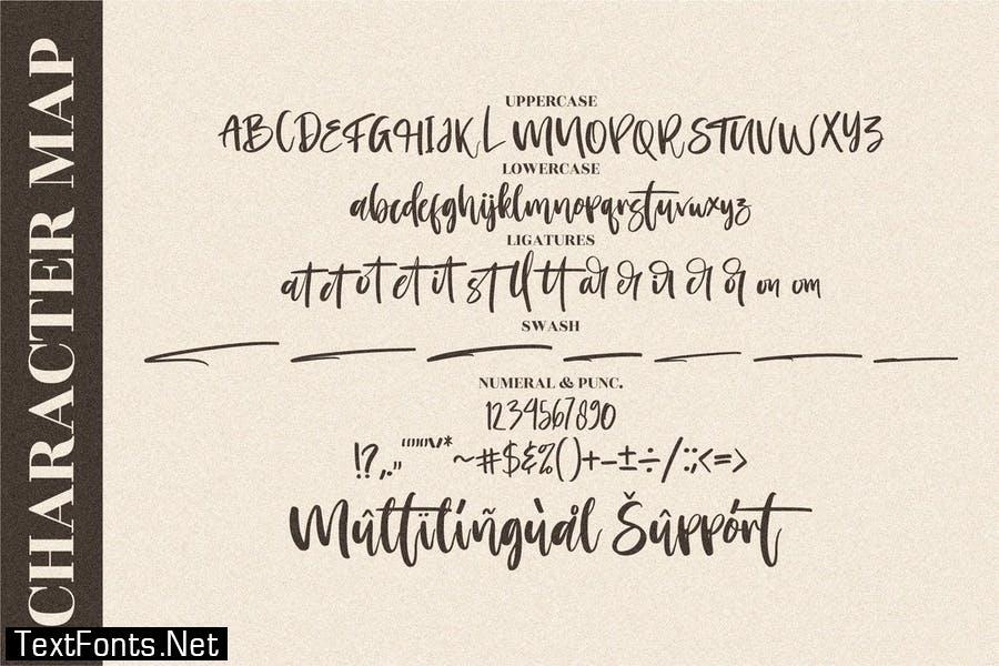 Morning Handwritten Script LS