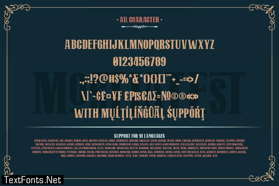Mostlatest Font