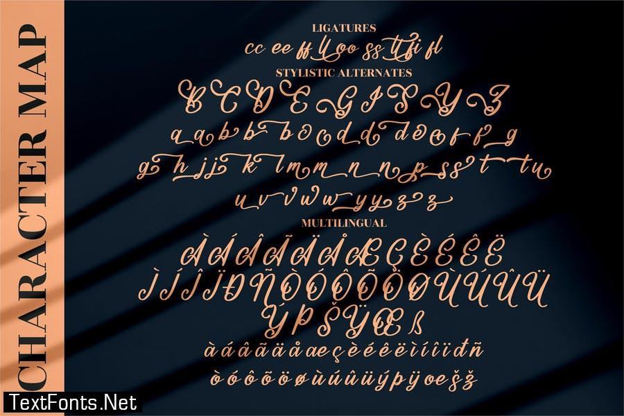 Mountain Brilliant Modern Script LS