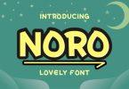 Noro Font
