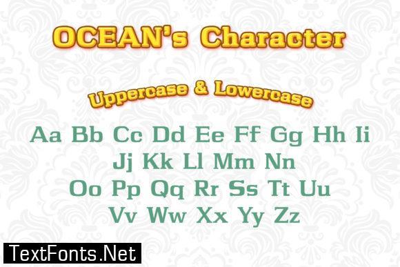 Ocean Font