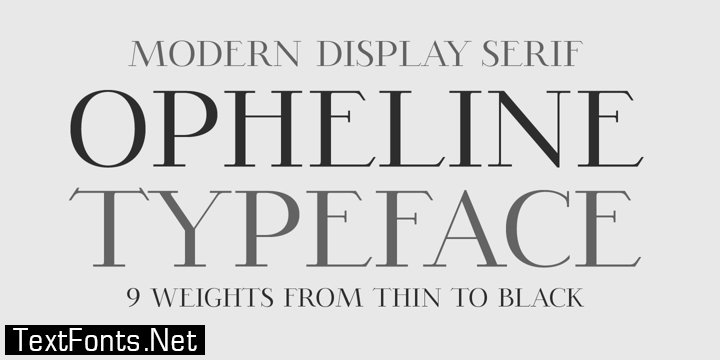 Opheline Font Family
