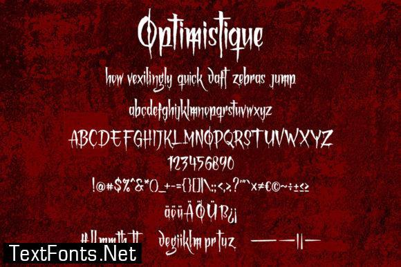 Optimistique Font