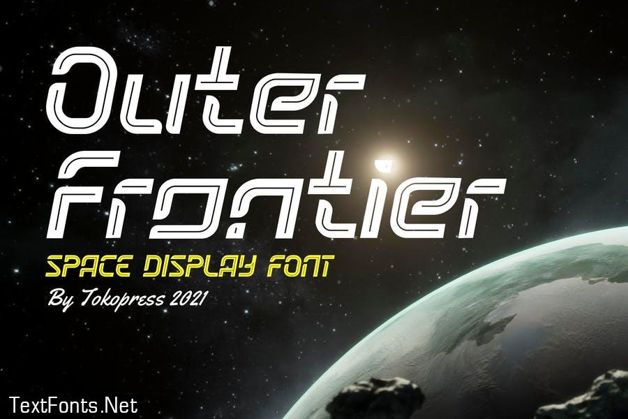 Outer Frontier - Space Font