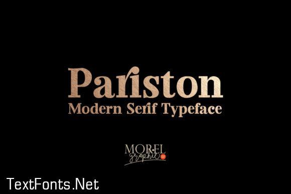 Pariston Font