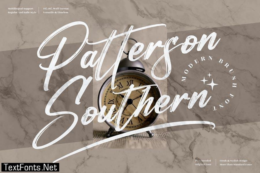 Patterson Southern Brush Font LS