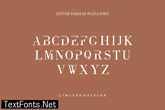 Pazea Font