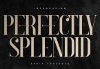 Perfectly Splendid Font