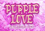 Purple Love Font