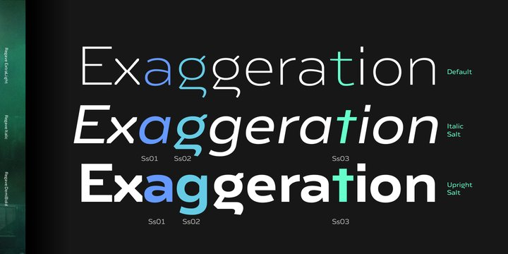 Regave Font Family