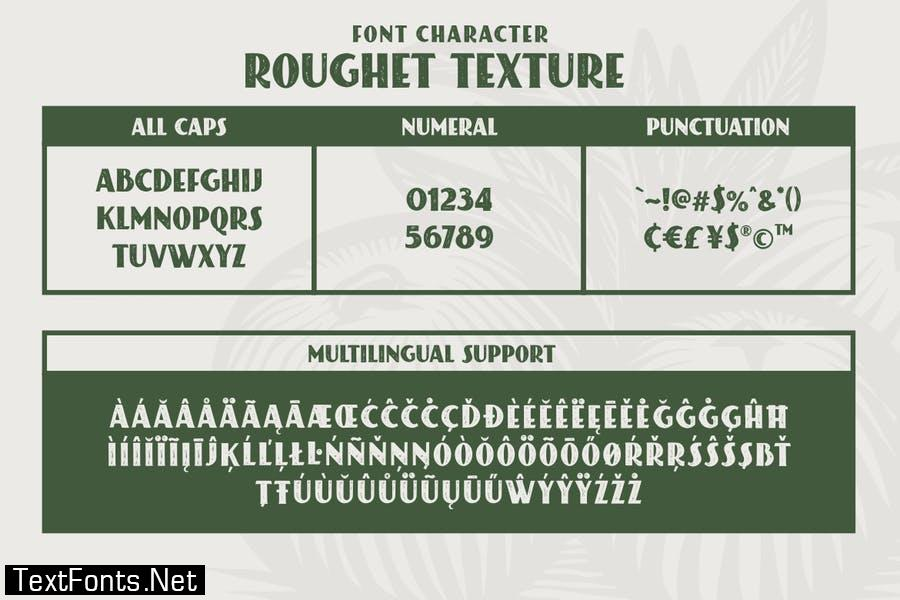 ROUGHET TYPEFACE