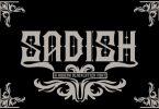 Sadish Font