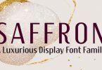 Saffron Font Family