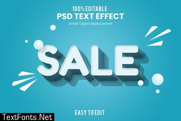 Sale - Fun 3d Text Effect