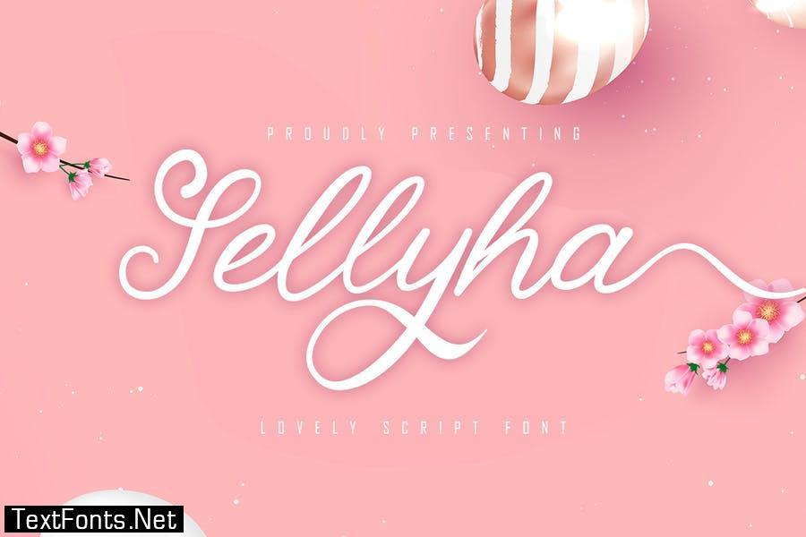 Sellyha - Lovely Script Font