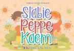 Slabie Peppe Kaem Font