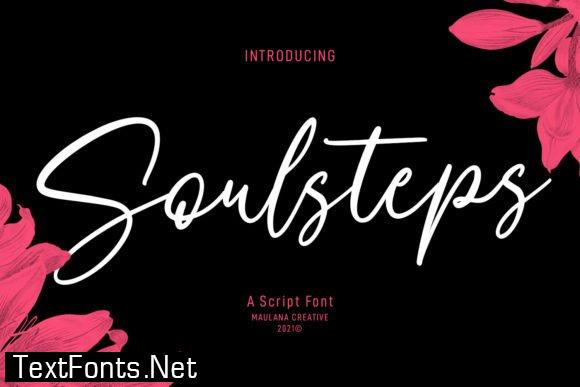 Soulsteps Font