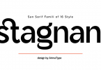 Stagnan Font Family
