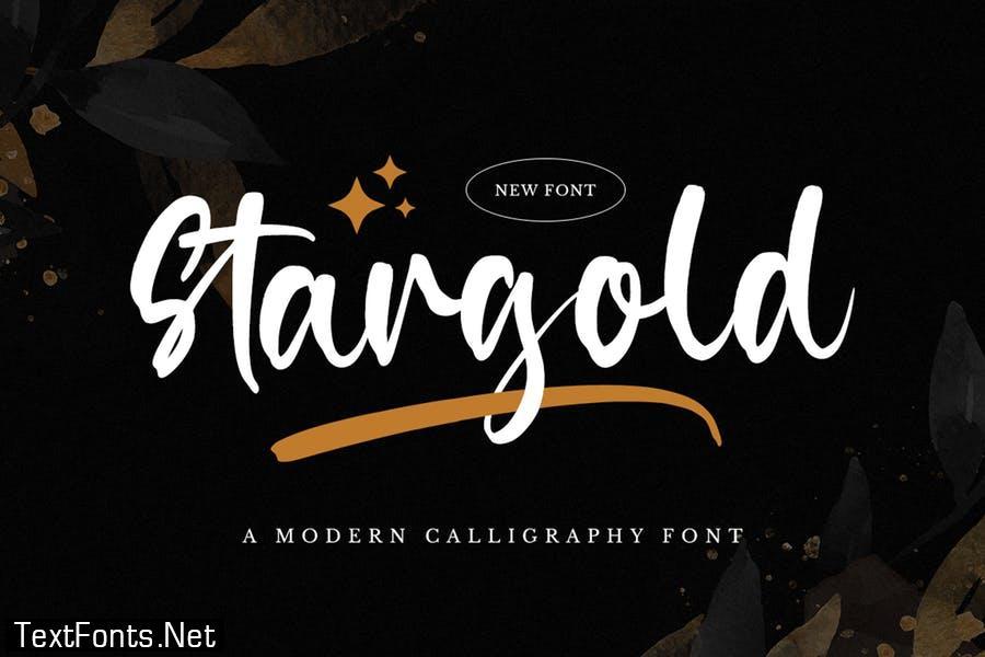 Stargold - Bold Font