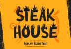Steak House Font